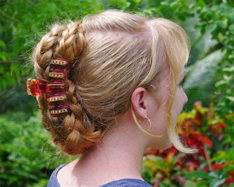 hairstyles using banana clips braids hairstyles for super long hair banana clip style