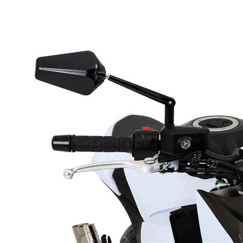 Motorrad Spiegel Hersteller by Motorrad Spiegel Aluminium Prato Paar Schwarz