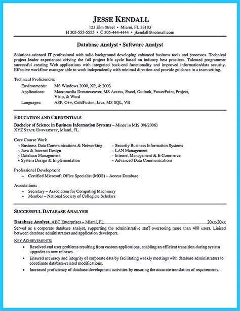 resume format for data analyst high quality data analyst resume sle from professionals