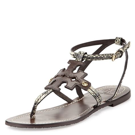 burch sandals sale snap n zip fashion accessories burch phoebe snake
