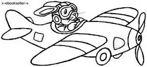 aerei disegni da colorare bambini bambine