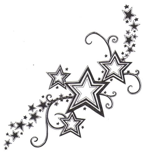 star tattoos design shooting designs 2016 yakuza japanese