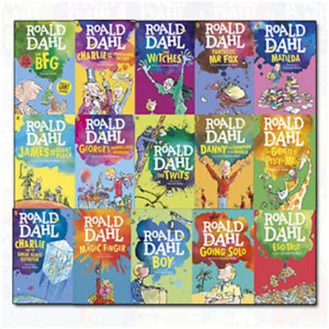 roald dahl picture books roald dahl collection 15 books set dahl fiction children