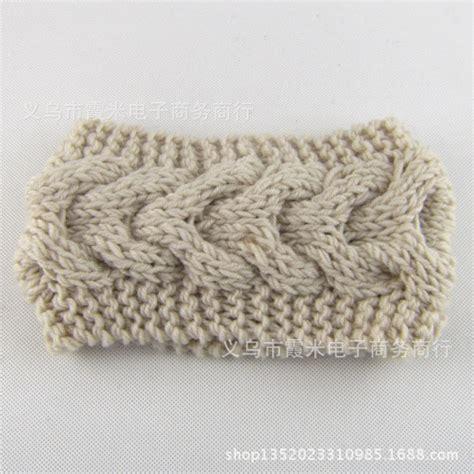 crochet pattern central headbands new crochet headband knit hairband flower winter women ear
