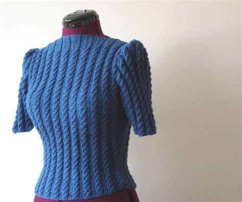 style knitting patterns aran style jacket knitting pattern lovely vintage