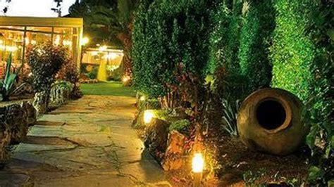 imagenes de jardines en otoño iluminaci 243 n de jardines arabuko