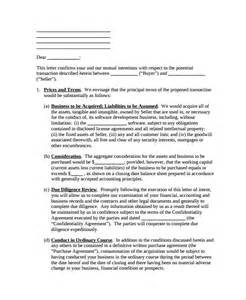 Letter Of Intent Sle Sle Letter Of Intent To Purchase Property 8 Free Documents In Word Pdf
