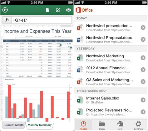 Microsoft Office Word Mobile Microsoft Officmobile For Iphone Released Supports Word
