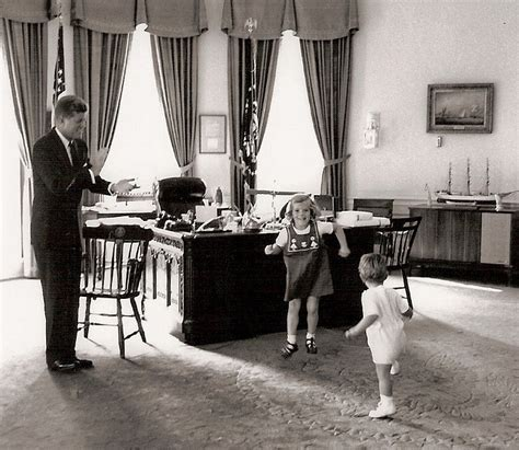 Kennedy Oval Office by The History Place John F Kennedy Photo History The