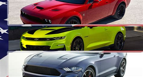 americas  selling muscle car