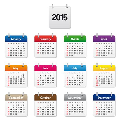 calendar design template 25 printable new year 2015 calendars