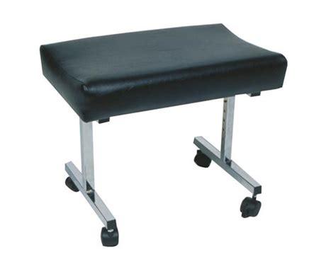 adjustable foot stool with castors