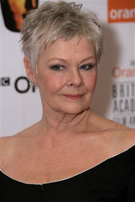 judy dench hairstyle front and back pinterest the world s catalog of ideas