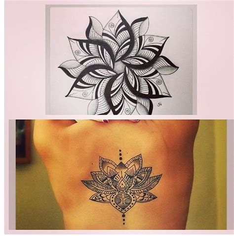 tattoo lotus mandala lotus mandala tattoos pinterest