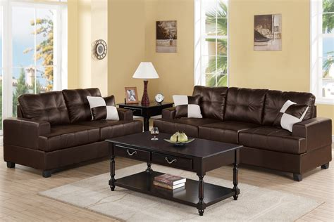 brown sofa and loveseat sets brown leather sofa and loveseat set steal a sofa