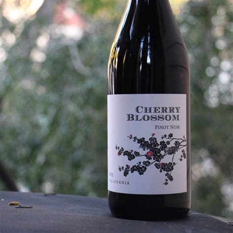 Cherry B Wine 4x the wine idiot reviews cherry blossom pinot noir 2013