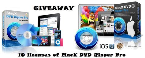 Macx Dvd Ripper Pro Giveaway - the www blog giveaway macx dvd ripper pro for windows mac 10 licences apple