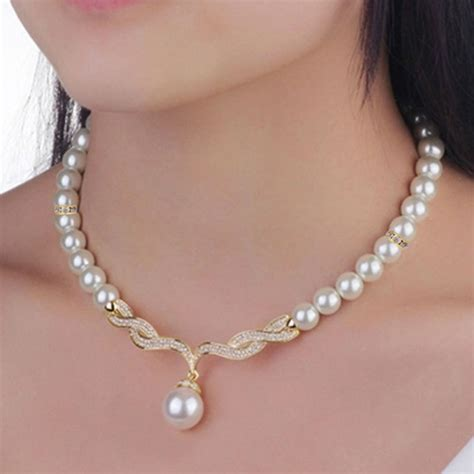 7 Best Necklaces For Your Wedding by Wedding Jewelry Sets Gold Color