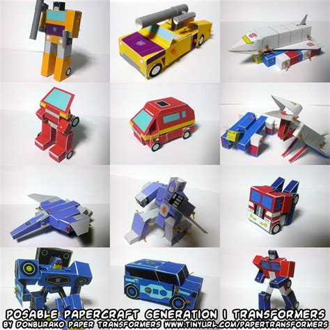 How To Make A Paper Transformer Bumblebee - pin this transformers papercraft is the optimus prime