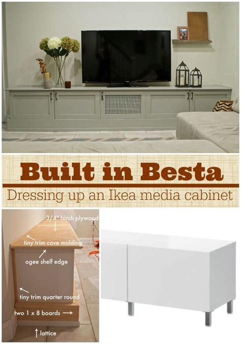 Ikea Besta Media Center by Ikea Hacking A Besta Media Center Into A Custom Diy Built
