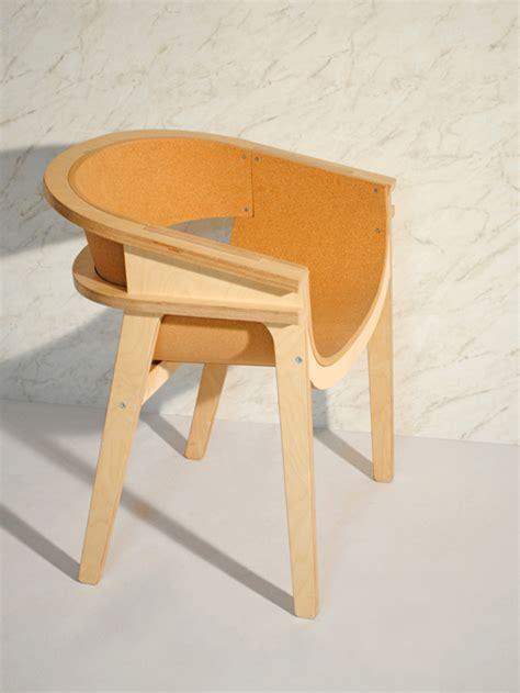 Cork Chair by Corza Cork Chair By Metafaux Design