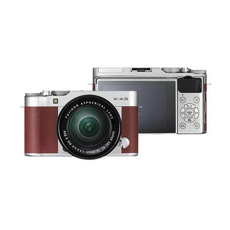 jual fujifilm x a3 kit lens 16 50mm kamera mirrorless