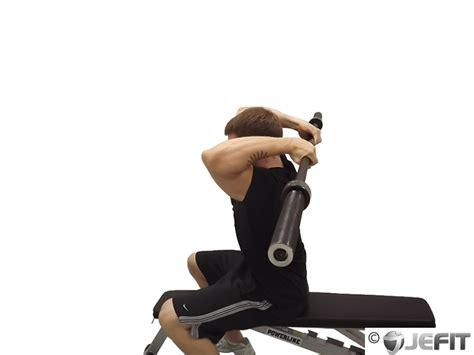 ez curl bar bench press ez bar seated reverse grip french press exercise