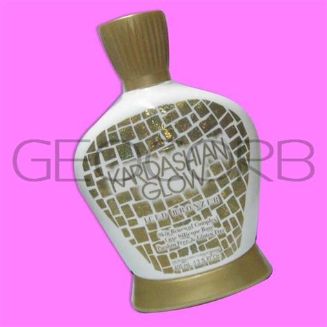tanning bed lotions with bronzer kardashian glow iced bronzer cooling tanning bed lotion