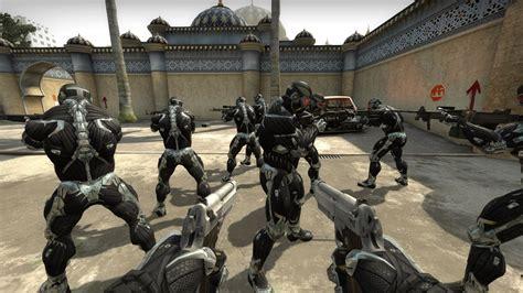 Cs 544 Black nanosuit counter strike global offensive skin mods
