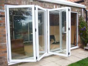 Bi Fold Sliding Patio Doors Tectura Four Pane Aluminium Bifold Door