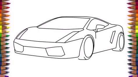 doodle drawings step by step car drawing step by step how to draw a car lamborghini