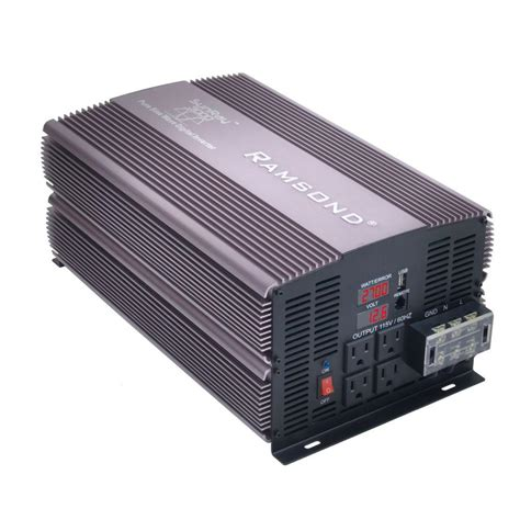 ramsond sunray 3000 sine wave intelligent dc to ac