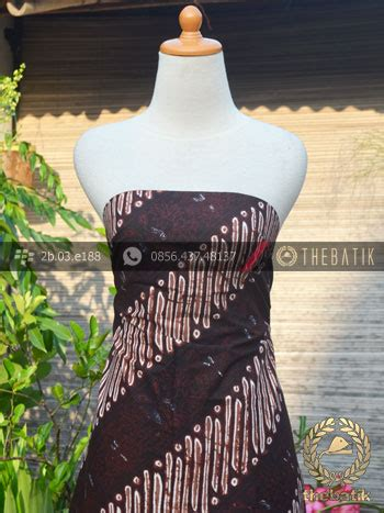 Kemeja Batik Parang Modern Gradasi Maroon jual bahan batik cap tulis jogja motif parang srimpi