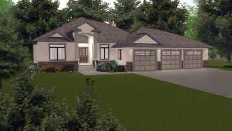 House With 3 Car Garage by 3 Car Garage On House Plans By E Designs 7