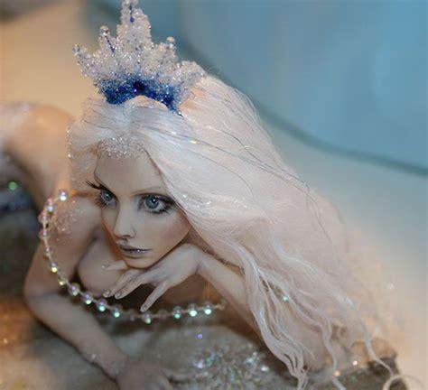 mermaid fairy ooak fantasy art doll sculpture fairy faerie quot frozen