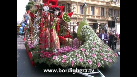 carri fioriti sanremo carri vincitori sanremoinfiore 2012 bordighera tv