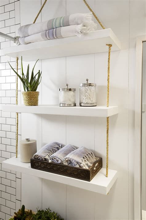 Open Kitchen Shelves Decorating Ideas a builder grade bathroom transformation with lowe s