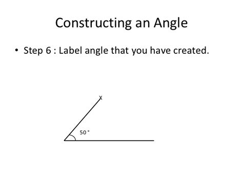 Drawing 40 Degree Angle by Constructing An Angle Or Triangle Using A Protractor