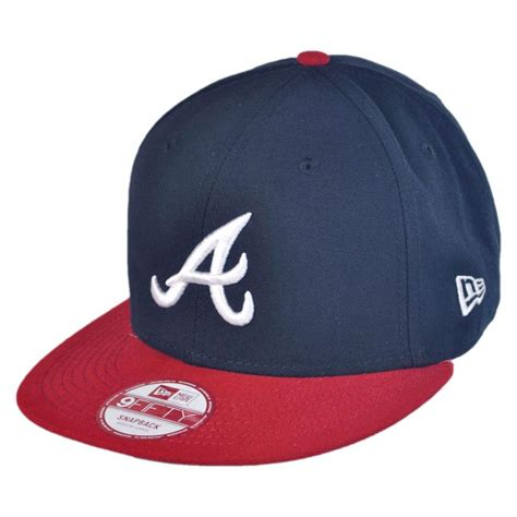 baseball cap new era atlanta braves mlb 9fifty snapback baseball cap mlb baseball caps