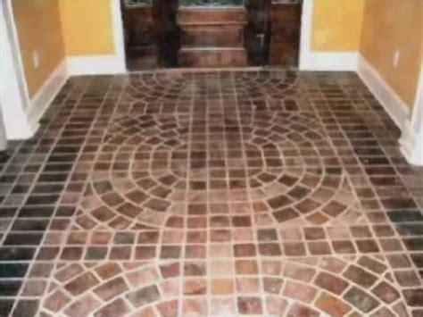 Interior Brick Pavers Flooring by Portstone Brick Flooring