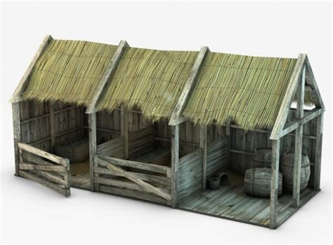 Barn House by All 3dmodels Com Sharing 3d Models Flawlessy Through All
