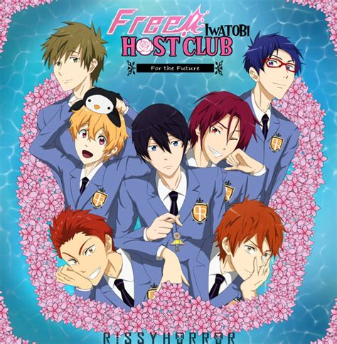 Free Iwatobi Host Club By Rissyhorrorx On Deviantart