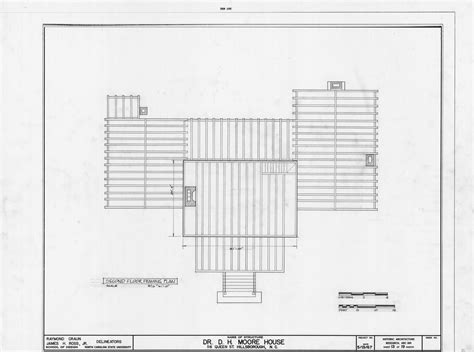 2nd Floor Framing Plan | second floor framing plan hasell nash house hillsborough
