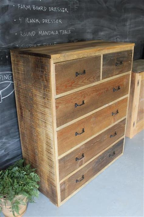 How To Make A Wooden Dresser by Pallet Dresser With Drawers Ideas Pallets Designs