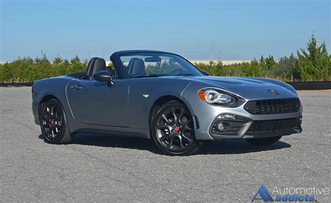 2017 fiat 124 spider abarth 2017 fiat 124 spider abarth review test drive