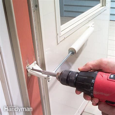 Fixing A Screen Door by Fix A Door Closer The Family Handyman