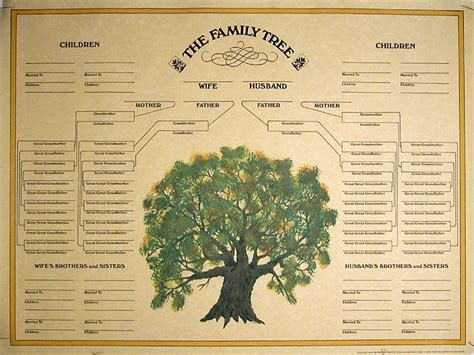 family tree template blank family tree