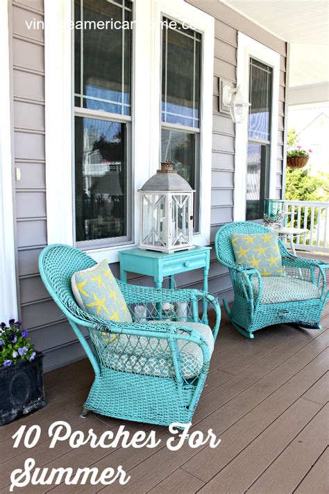 Decorate Front Porch 10 front porch decorating ideas vintage american home
