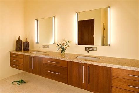 bathroom mirrors with lights attached are vertical vanity lights attached to mirror or separate