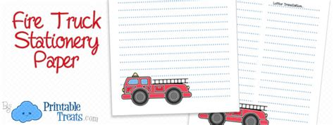 truck thank you card template truck printable treats
